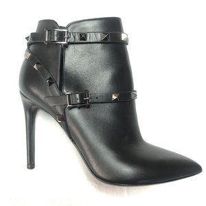 New Auc Valentino Rockstud leather Ankle Boots